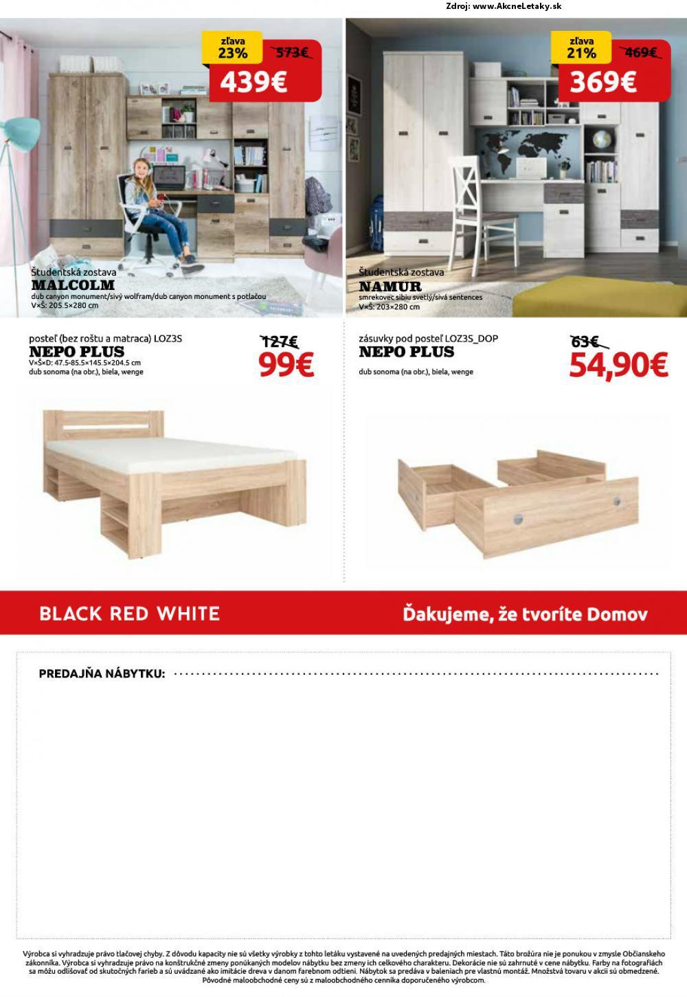 Leták Black Red White - strana 8