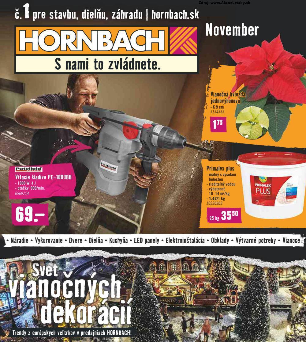 Leták HORNBACH - strana 1