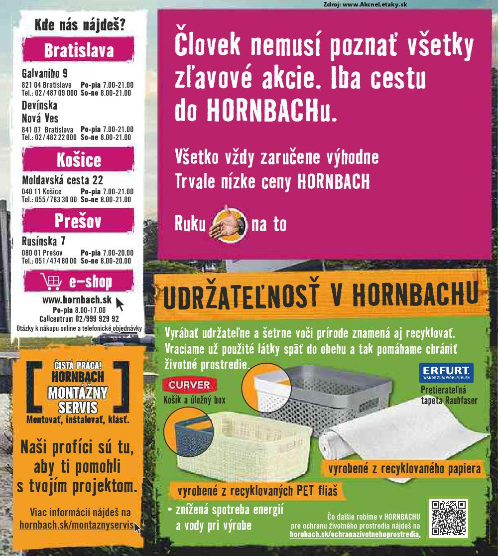 Leták HORNBACH - strana 2