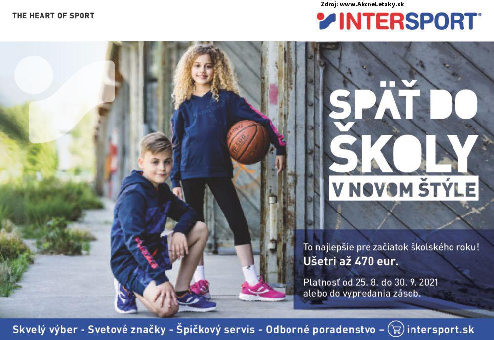 Leták Intersport - strana 1