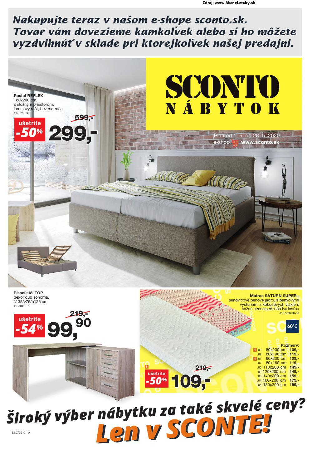Leták Sconto - strana 1