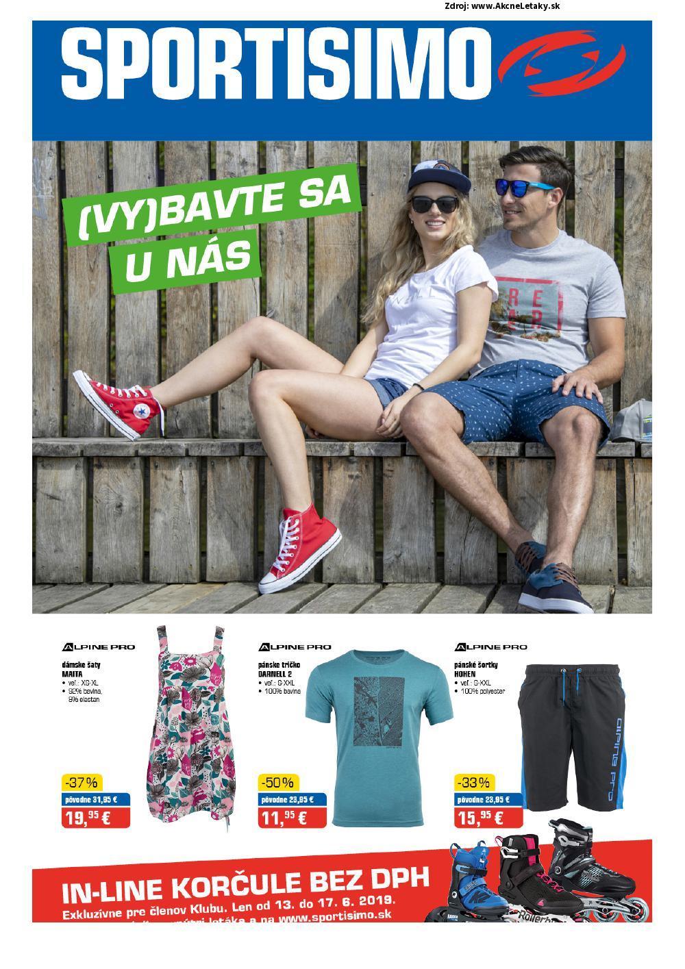 Leták Sportisimo - strana 1